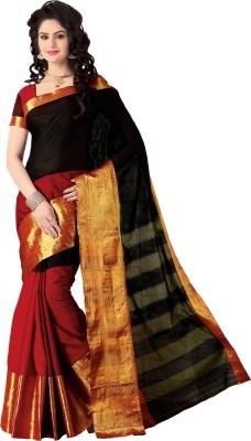Signature Fashion Plain Bollywood Cotton Sari