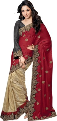 Saree Exotica Self Design Fashion Velvet Sari