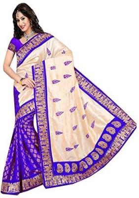 SAN Printed Bollywood Art Silk Sari