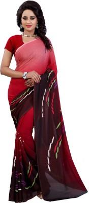 Kalika Printed Bollywood Georgette Sari