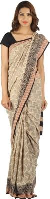 Khatri Creations Printed Daily Wear Handloom Cotton Sari