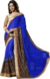Saree Exotica Embroidered Daily Wear Chi...