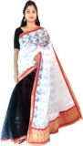 Tyra Sarees Embroidered Banarasi Handloo...