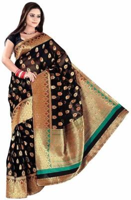 Indian Pahnaav Embellished Banarasi Banarasi Silk Sari