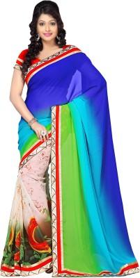 Shoppingover Self Design Fashion Georgette Sari