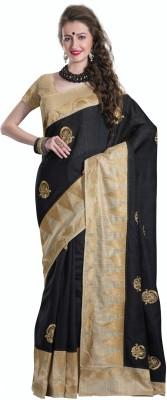 La,ethnic Embriodered Fashion Art Silk Sari