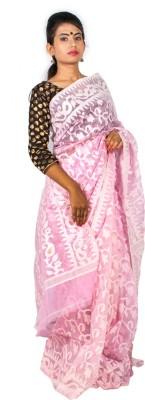 Taniis Woven Jamdani Handloom Cotton Sari