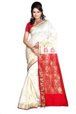 Shatabdi Self Design Mysore Silk Sari