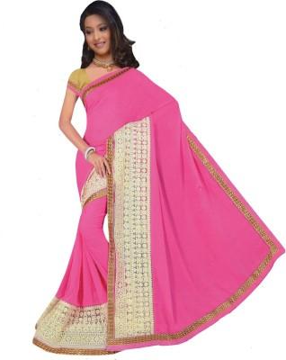Ronaksarees Self Design Bollywood Raw Silk Sari