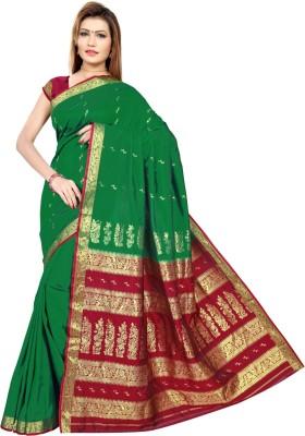 Aagamanfashion Self Design Fashion Art Silk Sari