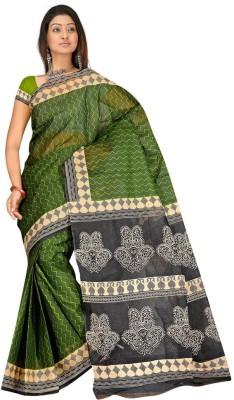 Salwar Studio Chevron, Paisley Daily Wear Cotton Sari