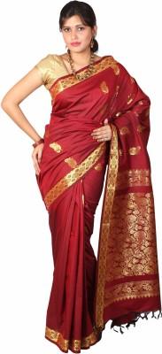 JCN Self Design Mysore Cotton Sari