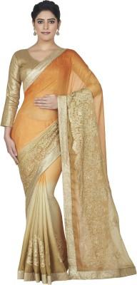Oomph! Embellished, Embriodered Fashion Chiffon Sari