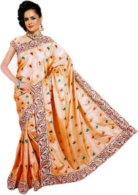 Sonakshi Creation Self Design Fashion Silk Sari