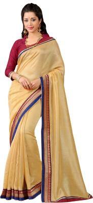 Vonage Solid Bollywood Silk Sari