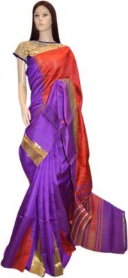 Exin Fashion Woven Kosa Pure Silk Sari
