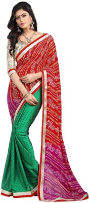 Stylezone Printed Bollywood Georgette Sari
