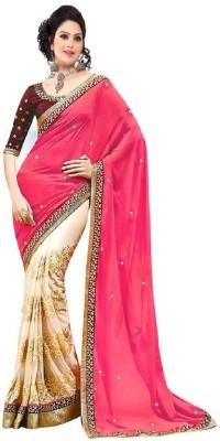 Patel Sarees Embellished Bollywood Georgette Sari