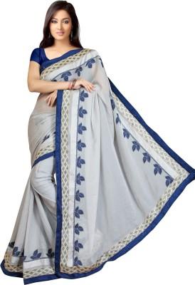 Shaurya Trendz Embriodered Banarasi Satin Sari