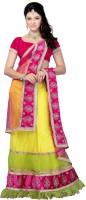 Diva Fashion Chaniya, Ghagra Cholis - Diva Fashion Self Design Women's Lehenga Choli(Stitched)