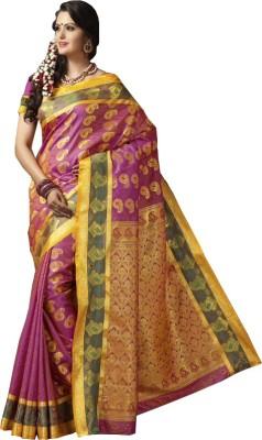 Sarika Fashion Self Design Kanjivaram Art Silk Sari