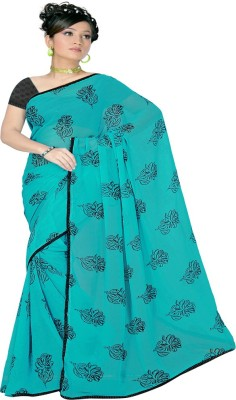 Pawan Tex Printed Fashion Satin Sari