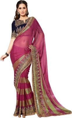Riddhi Designs Self Design Fashion Art Silk Sari