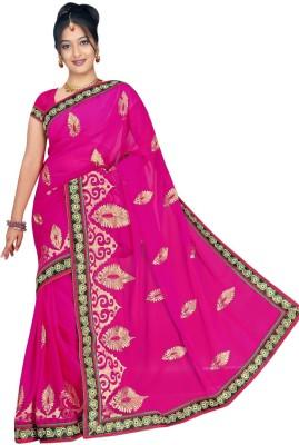Randeria Fabrics Self Design Bollywood Chiffon Sari