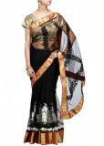 Fabron Embroidered Bollywood Georgette S...