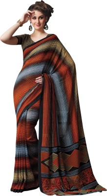 Vachi Printed Daily Wear Georgette Sari