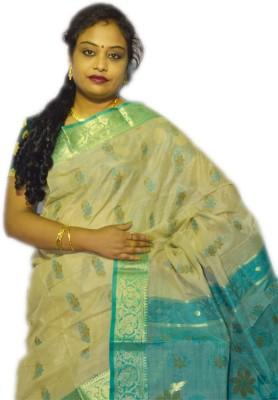 Fashion Gallery Embriodered Tangail Handloom Tussar Silk Sari