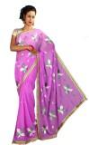 Anushree Saree Self Design Fashion Chand...