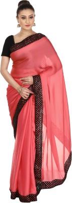 Kajal New Collection Solid Bollywood Satin Sari