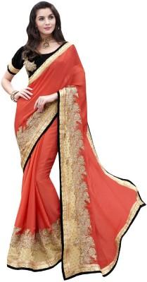 Resham Fabrics Embriodered Fashion Jacquard Sari