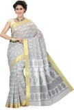 Saree Swarg Printed Bollywood Cotton Sar...