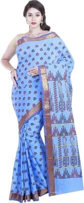 BrindavanSilks Printed Daily Wear Polycotton Sari