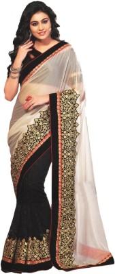Aparna Creation Embriodered Fashion Georgette Sari