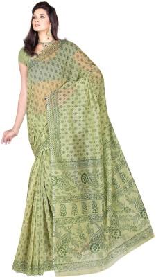 Srujan Printed Gadwal Cotton Sari