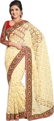 De Marca Self Design Fashion Tissue, Brasso Sari