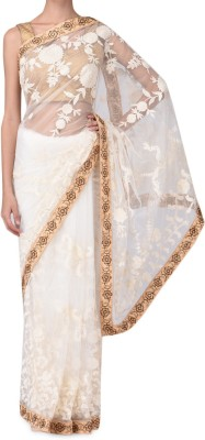 Parmar Design Embriodered Bollywood Net Sari