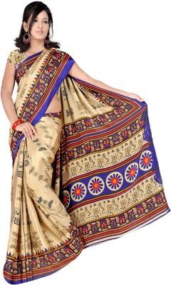 JK Fabrics Self Design Fashion Silk Sari