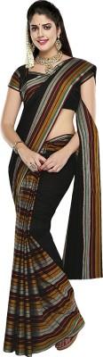 Dhammanagi Striped Daily Wear Handloom Cotton Sari