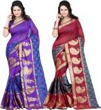 Dealtz Fashion Embellished Banarasi Bana...