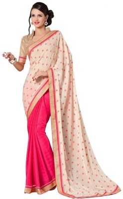 Vbuyz Printed Fashion Jacquard Sari