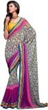Inddus Printed Fashion Georgette Saree (...