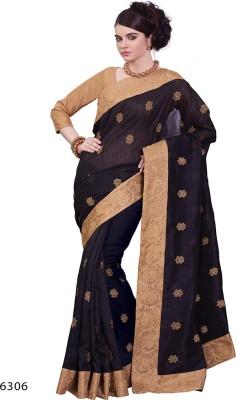 Parvati Fabrics Embriodered Fashion Silk Sari