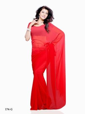 Uppada Sarees Plain Jamdani Silk Sari