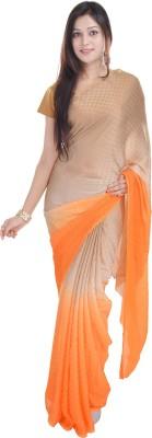 Soundarya Self Design Daily Wear Satin Sari