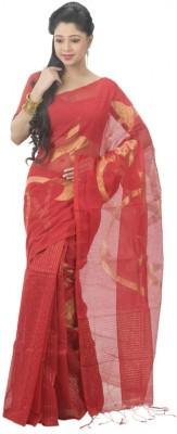 Appu Self Design Fashion Handloom Silk Cotton Blend Sari