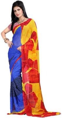 Calaso Floral Print Fashion Georgette Sari